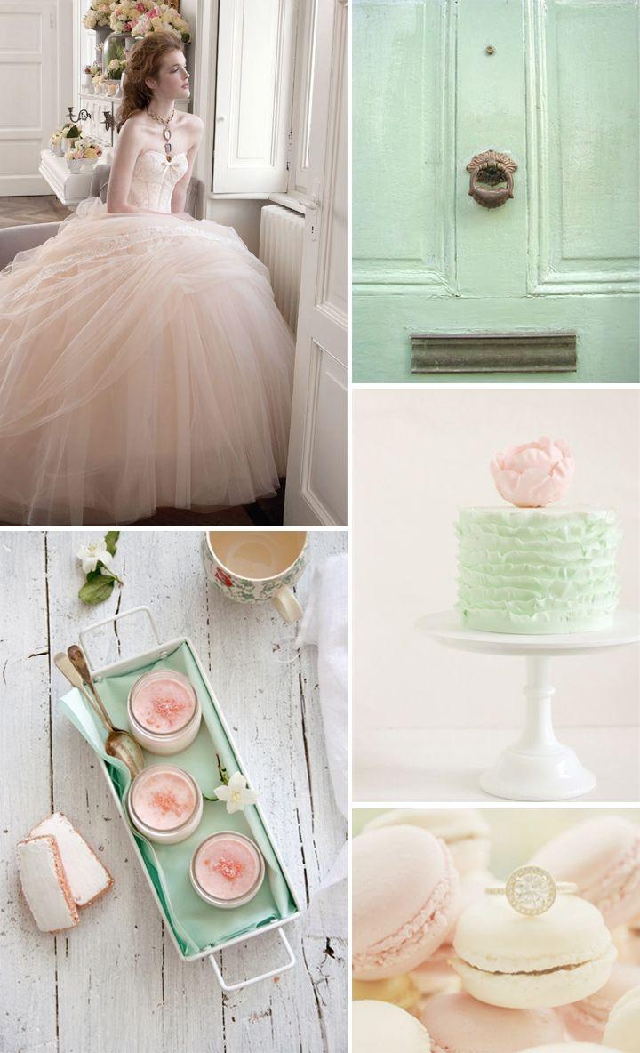 Matrimonio Tema Rosa Cipria : Matrimonio colori pastello scopri le palette colori