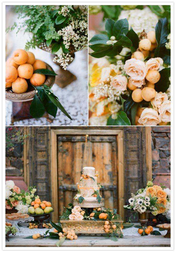 Matrimonio Tema Autunno : Nozze in autunno matrimonio a tema agrumi