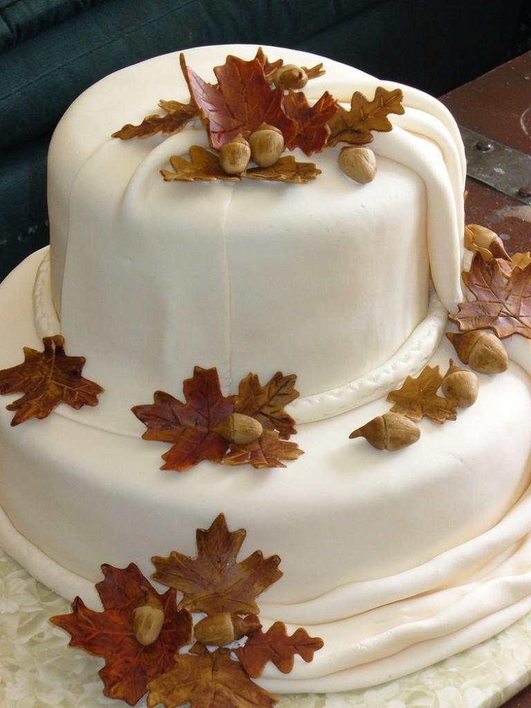 5 torte nuziali autunnali tutte da scoprire for Decorazioni nuziali