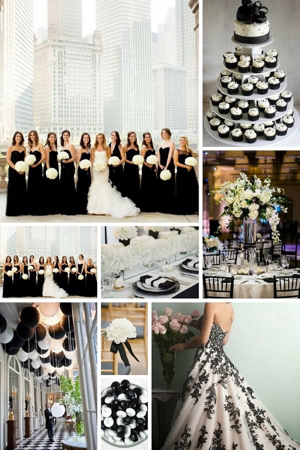 Matrimonio In Nero : Matrimonio in bianco: 5 idee per allestimenti total white