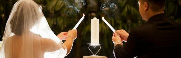 Matrimonio Simbolico Rito Della Luce : Matrimonio con rito simbolico ecco i rituali più belli