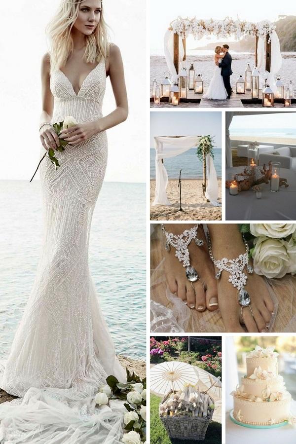 Matrimonio In Spiaggia Total White : Matrimonio in bianco idee per allestimenti total white