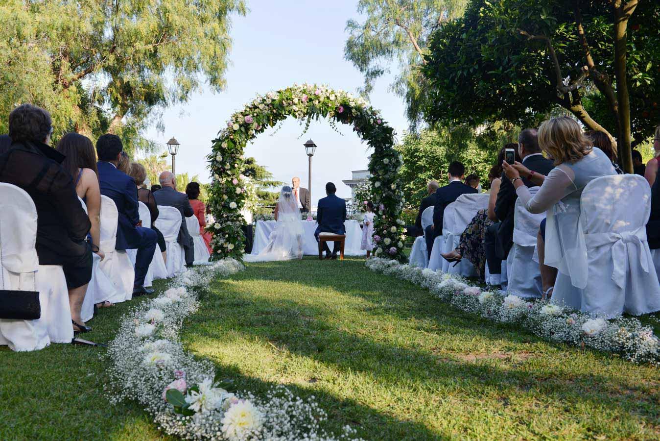 Location Matrimonio Natalizio Napoli : Matrimoni all aperto napoli la terra degli aranci