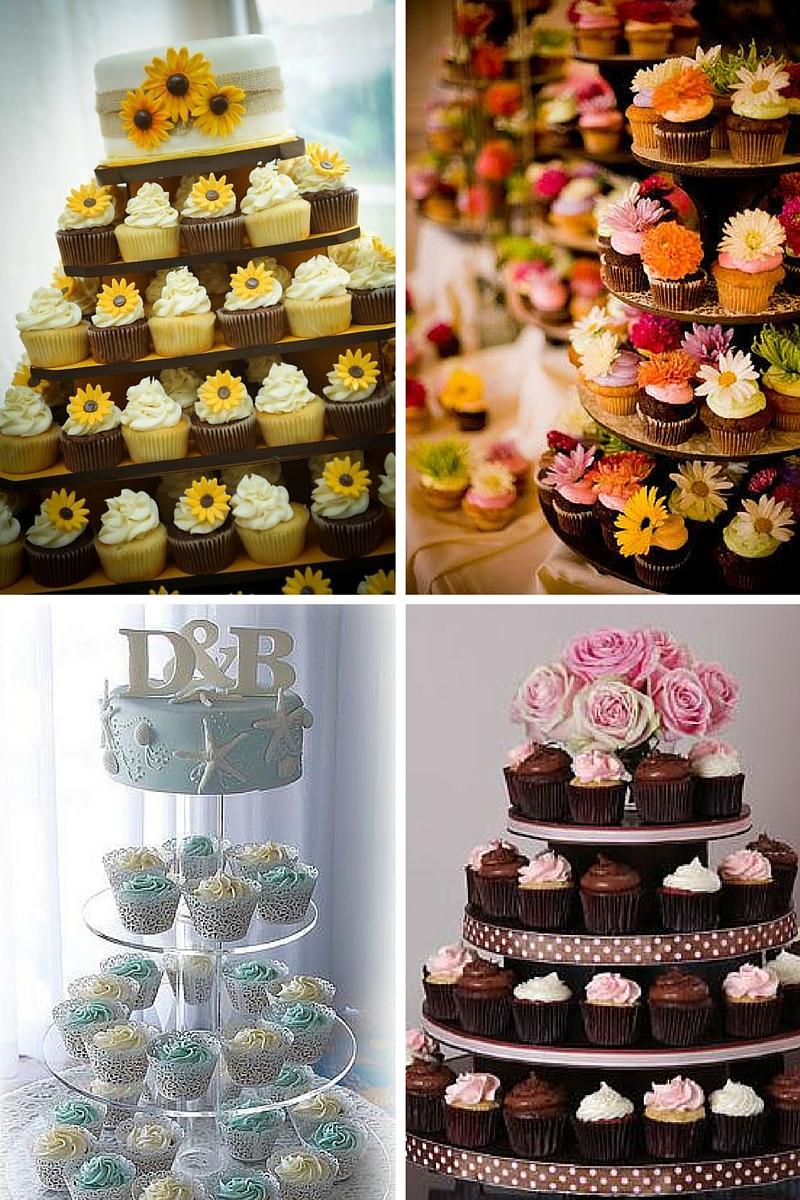 Cupcake nuziali perch sceglierli al posto della torta for Decorazione torte e cupcake