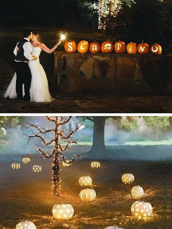 Matrimonio Tema Halloween : Matrimonio a halloween idee shabby e non solo