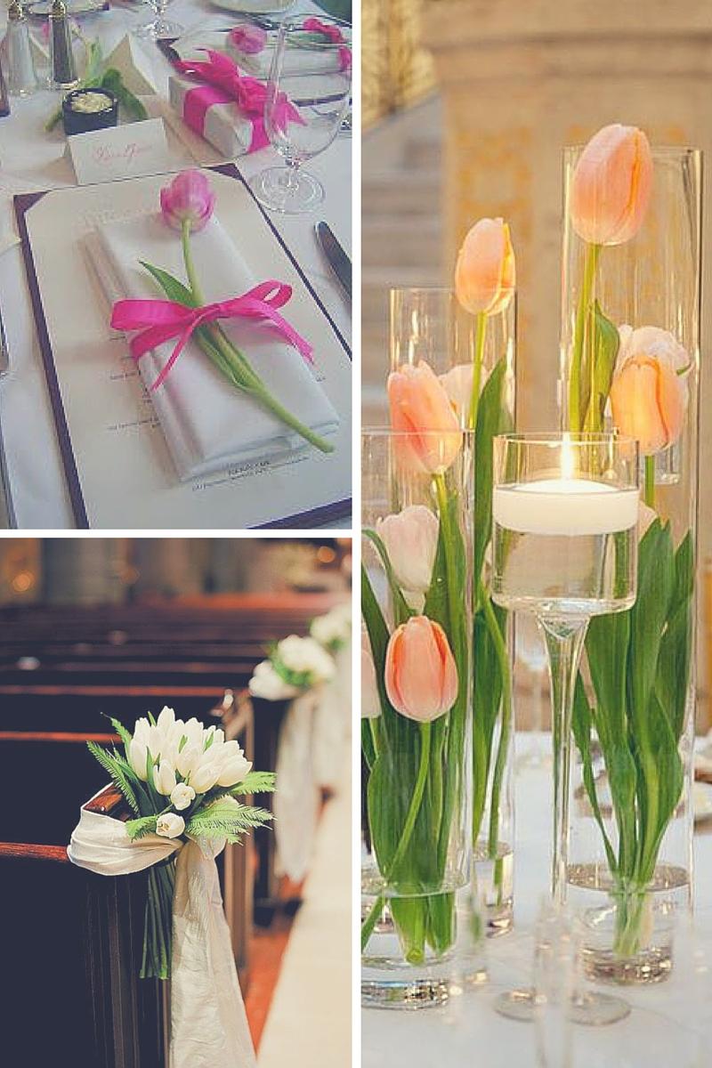 Tema Per Un Matrimonio Elegante : Nozze in primavera matrimonio a tema tulipani