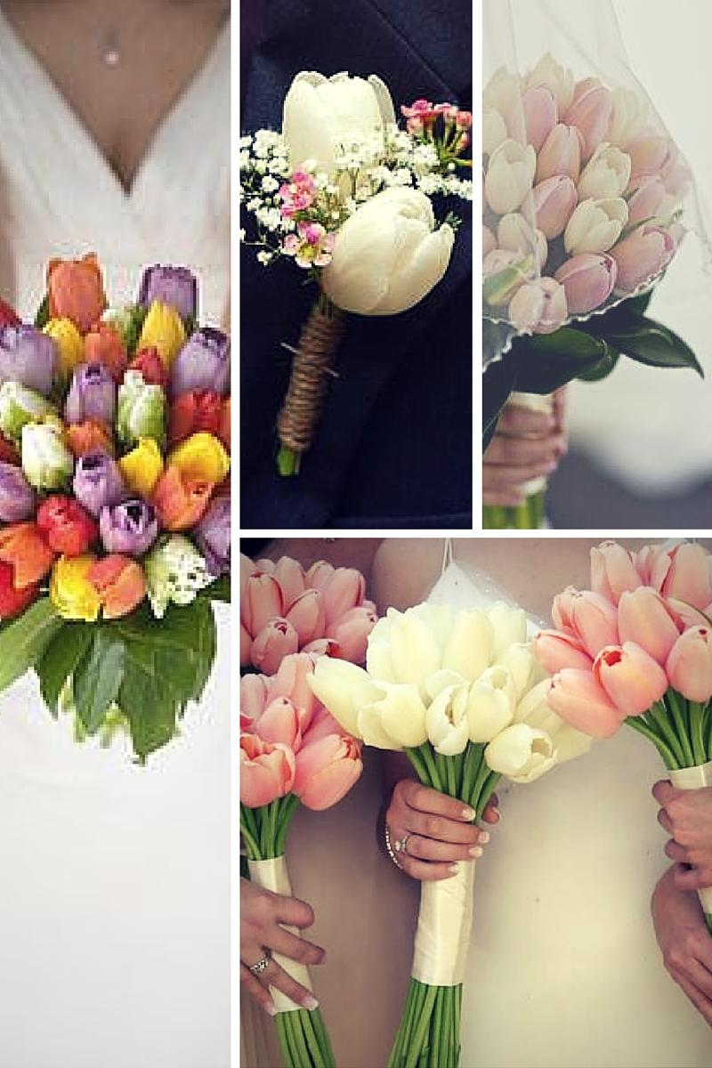 Bouquet Di Tulipani Per Sposa.Nozze In Primavera Matrimonio A Tema Tulipani