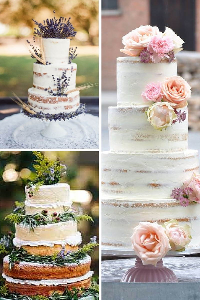Torte Matrimonio Country Chic : Torte nuziali la naked cake è perfetta per le nozze boho