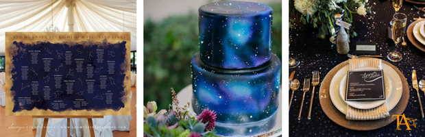 Starry Night: matrimonio a tema stelle