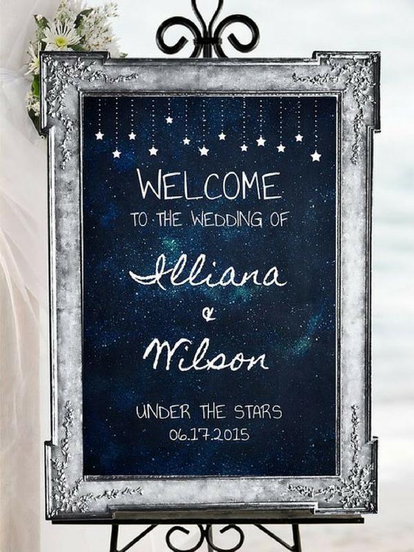 Tema Matrimonio Stelle E Pianeti : Starry night matrimonio a tema stelle