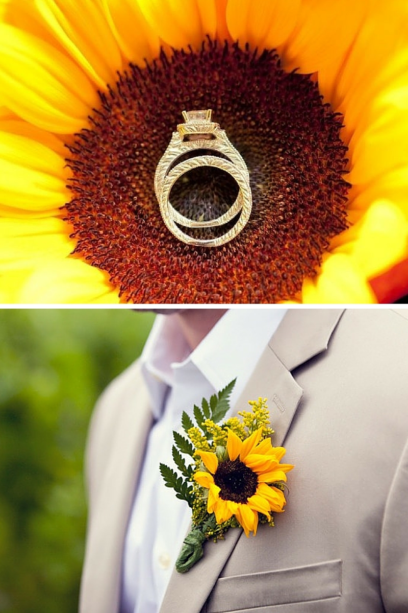 Centrotavola Con Girasoli Matrimonio : Matrimonio a tema girasoli la terra degli aranci